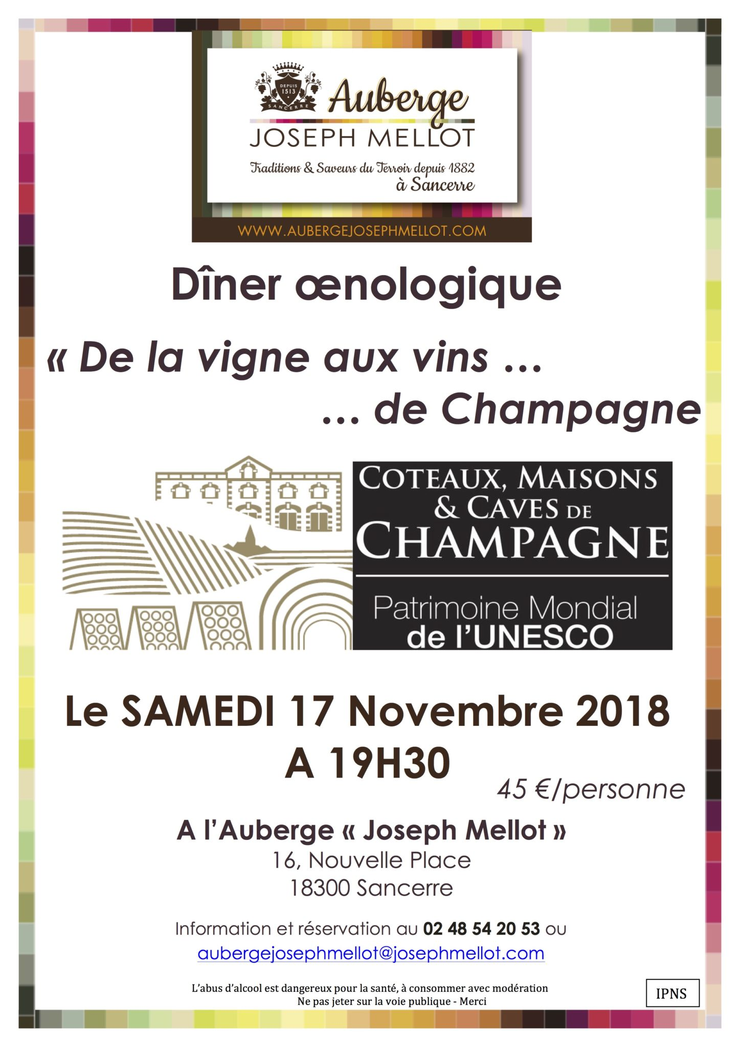 Joseph Mellot - De la vigne … aux vins de Champagne